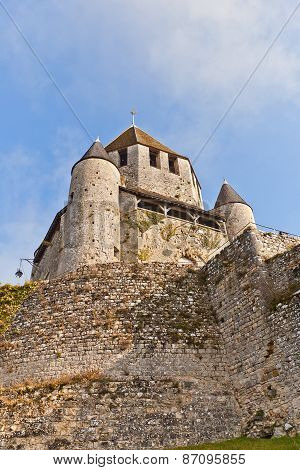 Caesar Tower (xii C.) Of Provins France. Unesco Site