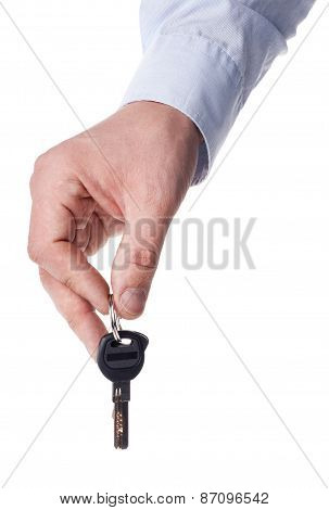 Keys And Hands - Stock Image