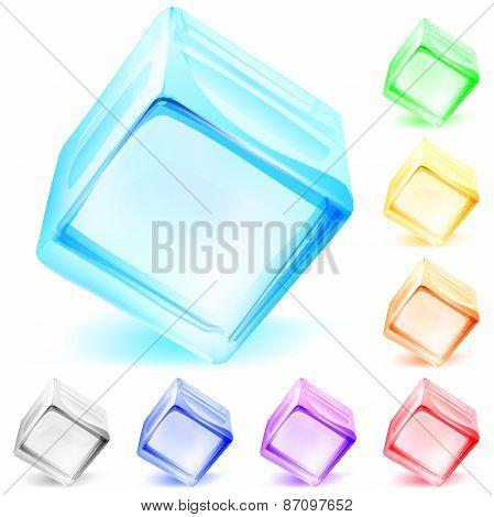 Opaque Glass Cubes