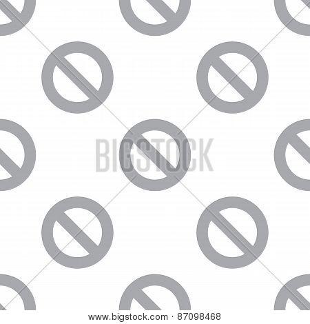 New Ban seamless pattern
