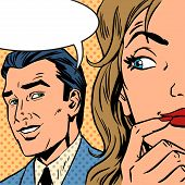 stock photo of  art  - Pop art vintage comic - JPG