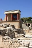 stock photo of minos  - Knossos is the largest Bronze Age archaeological site on Crete - JPG