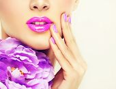 stock photo of  lips  - Luxury fashion style - JPG