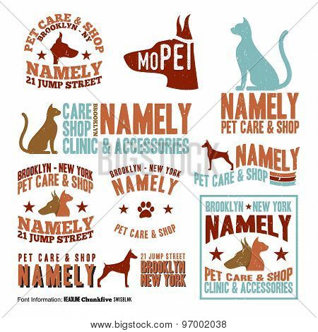 Pet Care Stamps