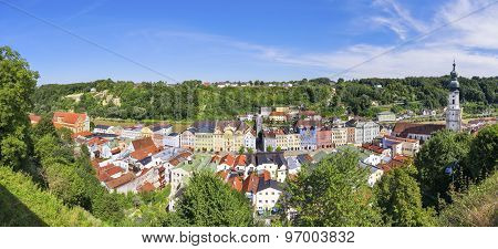 Panorama Burghausen