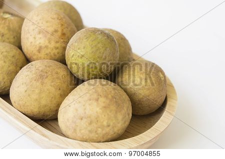 Longan Thai Tropical Fruit Herb Sweet Closeup Concept