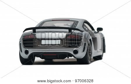 Model Silver Car
