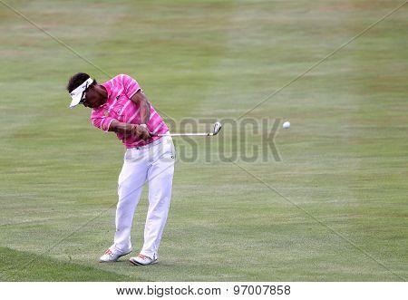 Tongchai Jaidee At The Golf French Open 2015