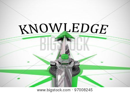 The word knowledge against compass