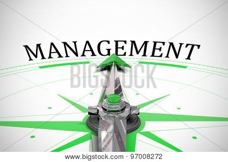The word management against compass