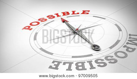 Compass against possible or impossible