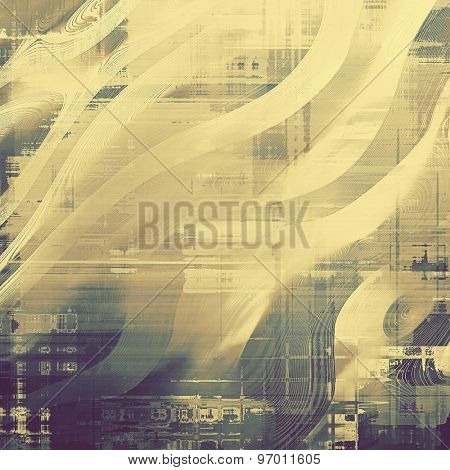 Vintage old texture for creative retro background. With different color patterns: yellow (beige); brown; gray; purple (violet)
