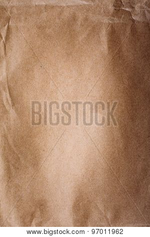 Old Blank Paper Background. Brown Paper Texture