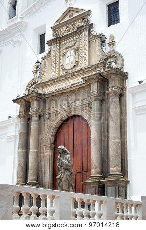 Beautiful Church Entrance