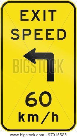 Advisory Exit Speed In Australia
