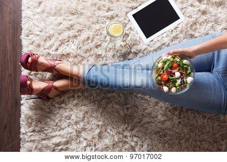 Bowl Of Healthy Salad