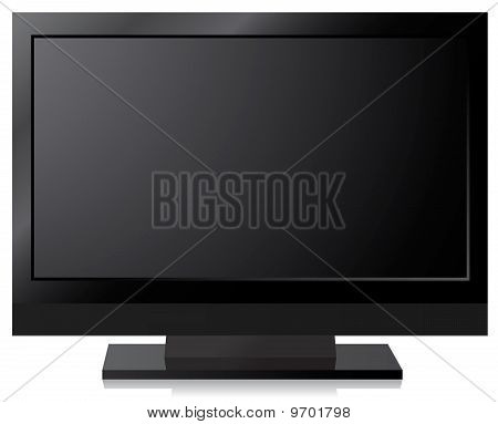 Black Lcd, Led, Plasma Tv Screen