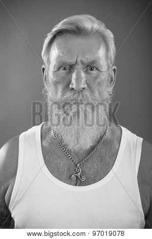 Man With White Beard