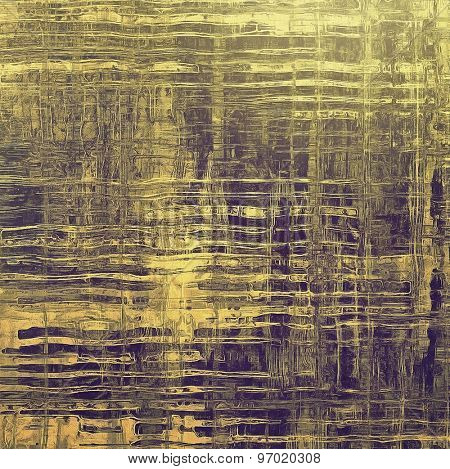 Old, grunge background or ancient texture. With different color patterns: yellow (beige); brown; gray; purple (violet)