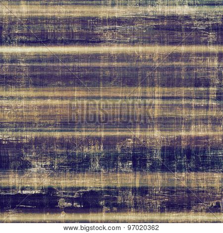Retro background with grunge texture. With different color patterns: brown; gray; purple (violet); blue