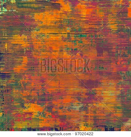 Old texture - perfect background with space for your text or image. With different color patterns: brown; purple (violet); green; red (orange)