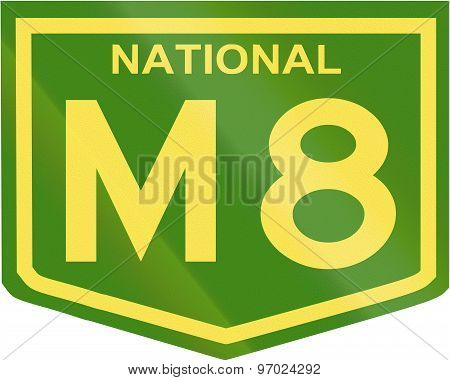 Australian National Highway Number M8