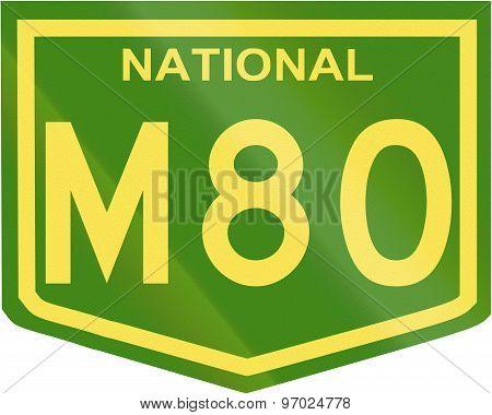 Australian National Highway Number M80