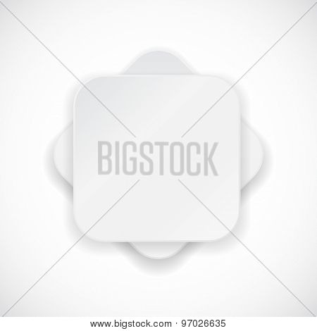rectangle flower abstract background