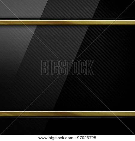 glass on metal plate background