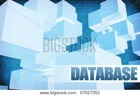Database on Futuristic Abstract for Presentation Slide