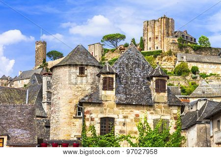 Turenne - one of the most beautiful villages in France (Limousin