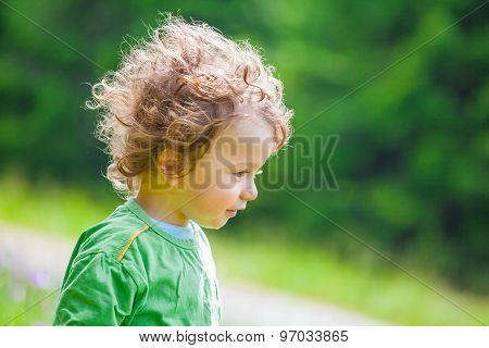 1 Year Old Baby Boy Portrait