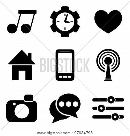 Social Media Web And Mobile Logo Icons Collection