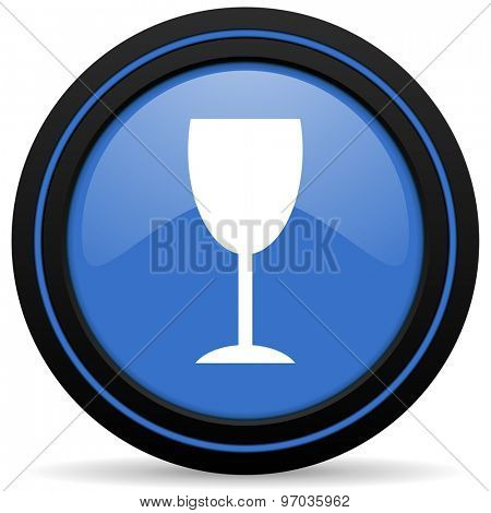 alcohol  icon glass sign