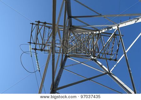 Construction Of A High-voltage Power Line
