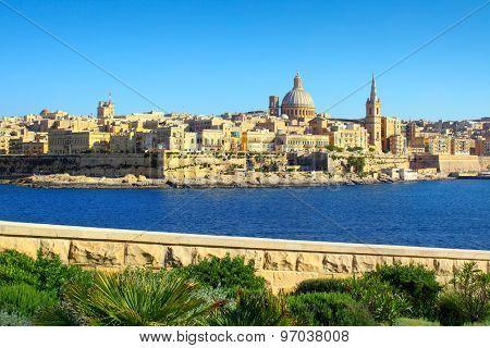 Valletta Skyline , Malta
