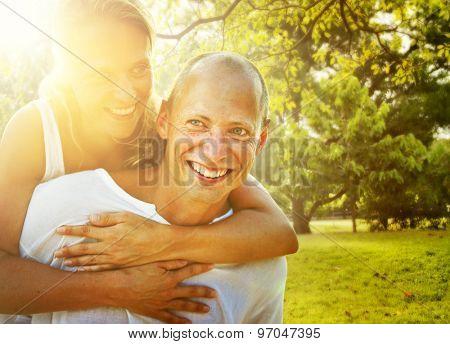 Couple Bonding Romance Holiday Concept