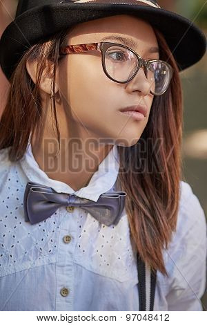 Hipster In Eyeglasses