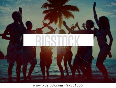 Summer Togetherness Holidays Vacation Bonding Concept