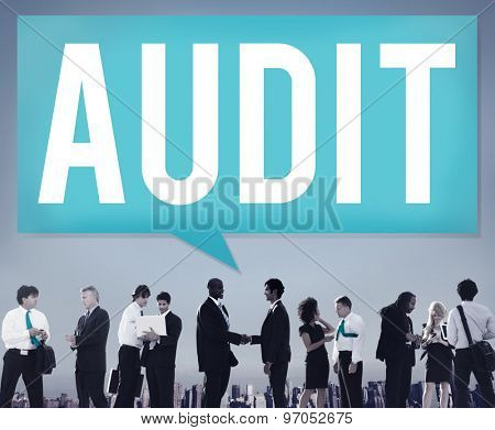 Audit Accounting Bookkeeping Finance Inspection Concept