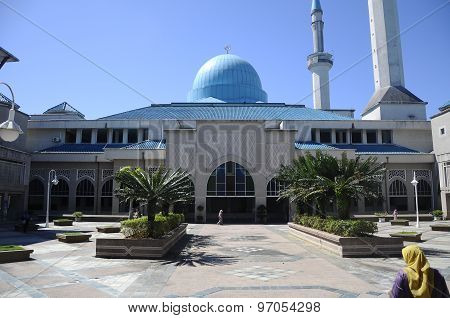 Sultan Haji Ahmad Shah Mosque a.k.a UIA Mosque in Gombak, Malaysia