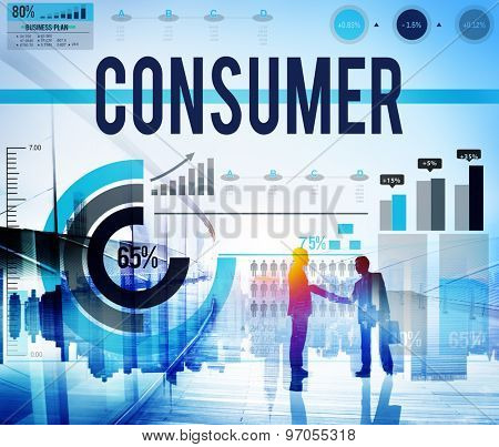 Consumer Buyer Customer Satisfaction Service Concept