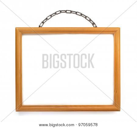 photo frame isolated on white background