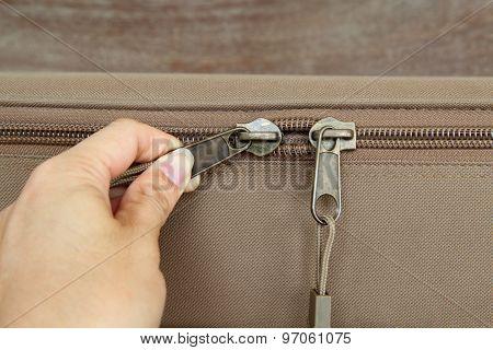 Zipper of the box