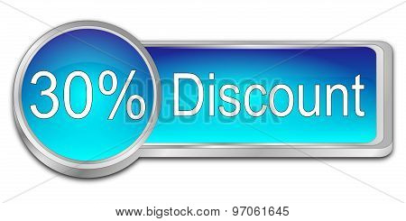 30% Discount Button