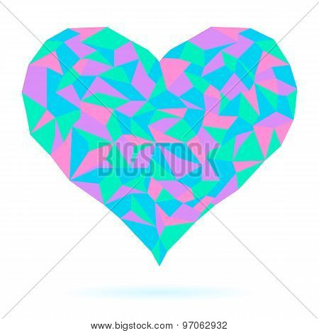 Heart-isolated-on-white-background