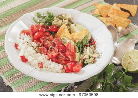 Pico de Gallo, fresh Mexican salsa