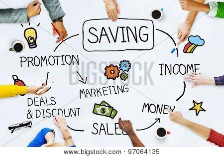 Saving Account Save Finance Money Fund Concept