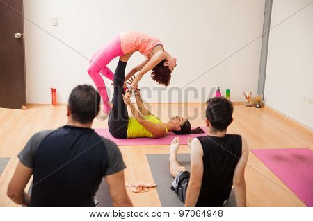 Acrobatic Yoga Demonstration