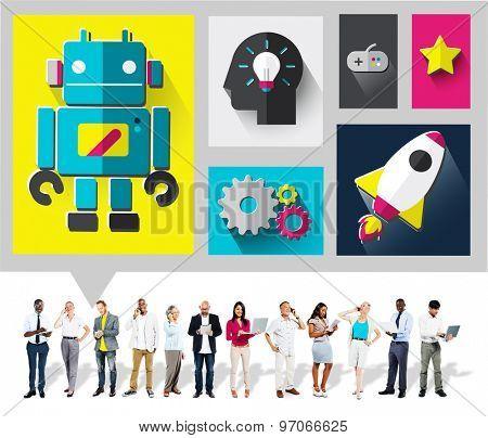 Innovate Creativity Ideas New Modern Technology Concept